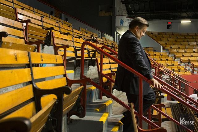 Le maire de Montréal Denis Coderre a fait... (PHOTO IVANOH DEMERS, LA PRESSE)