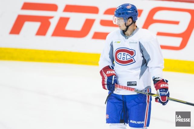 L'espoir du Canadien Tim Bozon affiche maintenant un... (Photo Olivier PontBriand, La Presse)