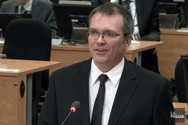 Luc Bertholda livré un témoignage àla commission Charbonneauen... (ARCHIVES LA PRESSE)