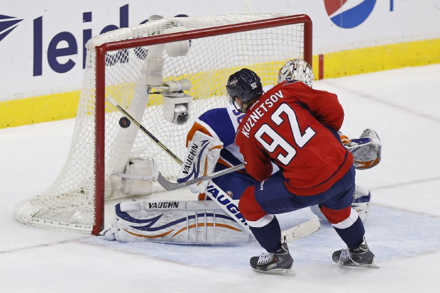 Evgeny Kuznetsov... (PHOTO GEOFF BURKE, ARCHIVES USA TODAY)