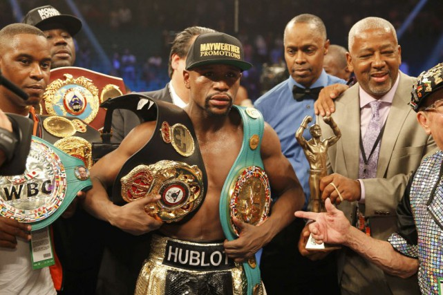 Floyd Mayweather... (Photo Steve Marcus, archives Reuters)