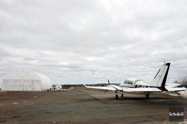 L'aérodrome de Pintendre... (Photothèque Le Soleil, Erick Labbé)