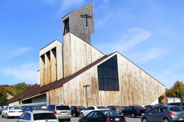 La cathédrale du Christ-Roi de Gaspé... (Wikipedia)