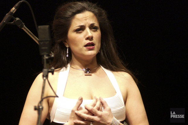 Gianna Corbisiero chante Gershwin jeudi soir au Centre... (PHOTO IVANOH DEMERS, ARCHIVES LA PRESSE)