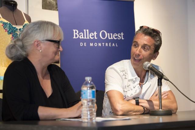 La compagnie Ballet Ouest de Montréal s'associe au... (Photo: Stéphane Lessard)