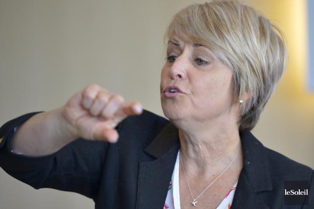 Sylvie Bernier... (Photothèque Le Soleil, Yan Doublet)