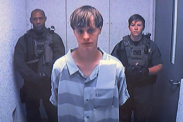 Dylann Roofencourt la peine de mort pour la... (PHOTO ARCHIVES AP)