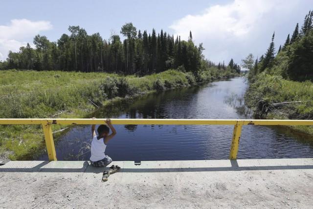 Shoal Lake nº 40, au Manitoba,fait l'objet d'un... (PHOTO JOHN WOODS, ARCHIVES LA PRESSE CANADIENNE)
