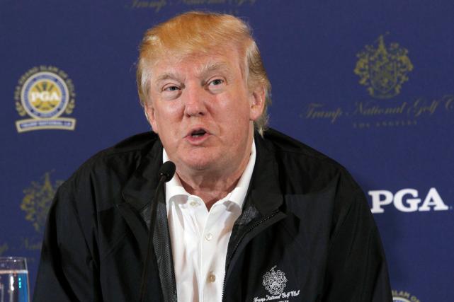 Donald Trumpa déclaré par communiqué qu'il ne souhaitait... (Photo Nick Ut, archives AP)
