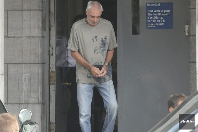 Gilles Guay subira une thérapie fermée de trois... ((Photo Le Quotidien, Michel Tremblay))