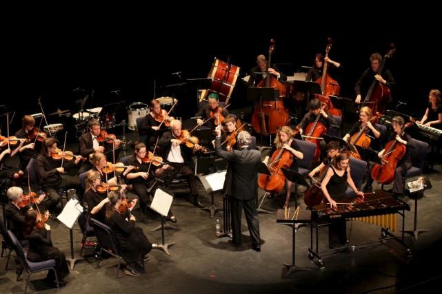 L'Orchestre à cordes de Baie-Comeau apportera sa musique... (Photo fournie par l'Orchestre à cordes de Baie-Comeau)