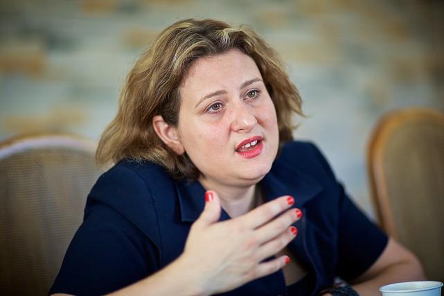 Catherine Harel Bourdon, présidente de la CSDM... (PHOTO ANDRÉ PICHETTE, ARCHIVES LA PRESSE)