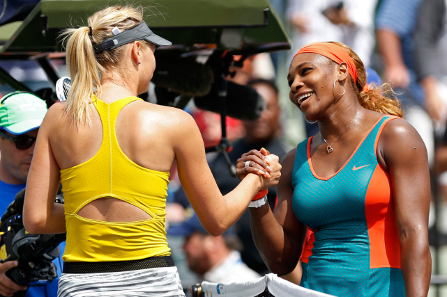 Serena Williams (à droite)a remporté ses 16 derniers... (Photo Geoff Burke, archives USA Today)