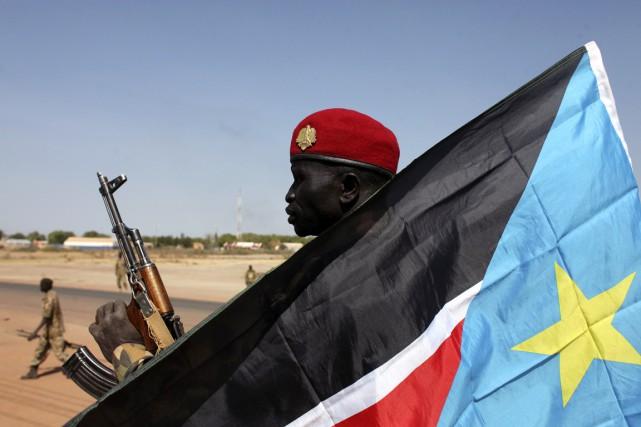 La guerre civile sud-soudanaise a éclaté mi-décembre 2013,... (PHOTO ANDREEA CAMPEANU, ARCHIVES REUTERS)