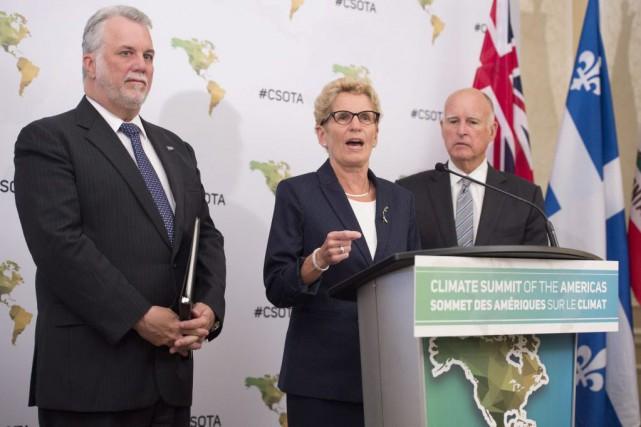 Le Sommet des Amériques sur le climat, organisé... (PHOTO DARREN CALABRESE, LA PRESSE CANADIENNE)