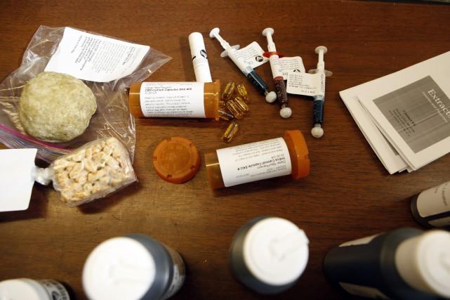 L'huile de cannabis peut être utilisé dans la... (PHOTO ARCHIVES LA PRESSE CANADIENNE)