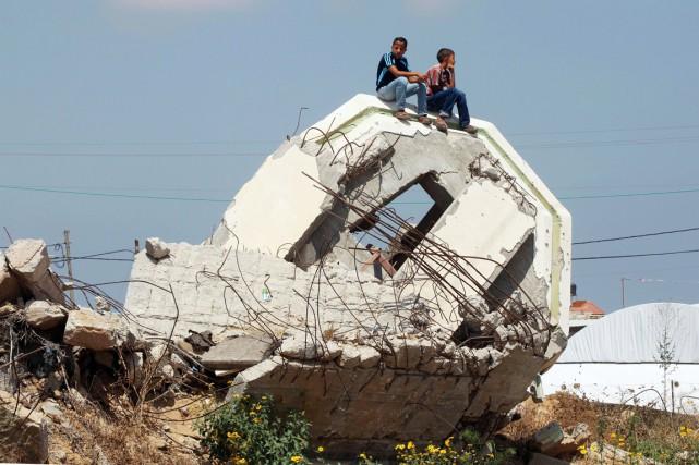 Un an après, explique Pernille Ironside, qui dirige... (PHOTO SAID KHATIB, AFP)