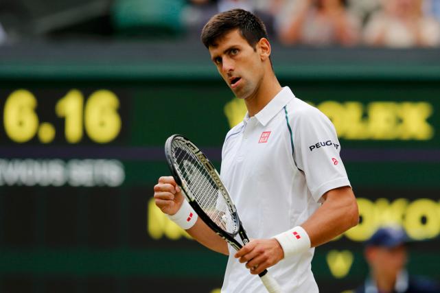 Le numéro 1 mondial Novak Djokovic est en... (Photo Suzanne Plunkett, Reuters)