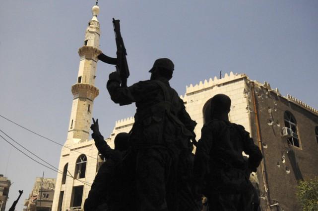 L'attaque n'infléchira pas la volonté de l'OSDH de... (ARCHIVES REUTERS)