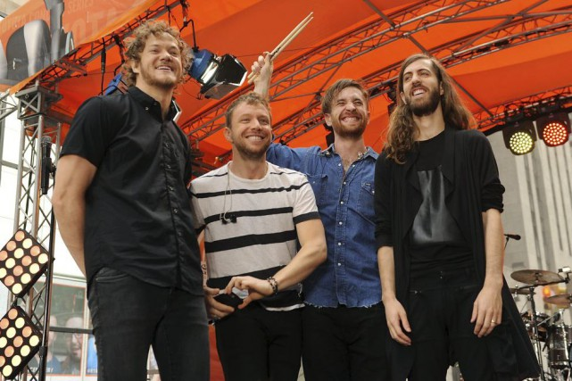 Dan Reynolds, Ben McKee, Daniel Platzman et Wayne... (Photo: archives AP)