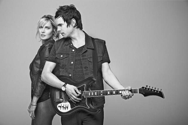 Le duo Justine Laberge et David Bussières d'Alfa... (Photo John Londono)