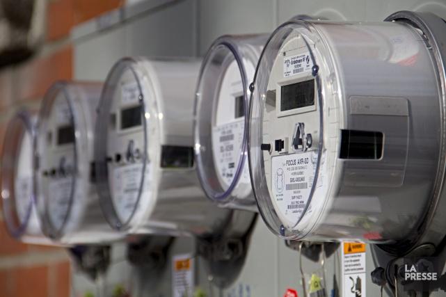 Les nouveaux compteurs intelligents installés par Hydro-Québec... (ARCHIVES LA PRESSE)