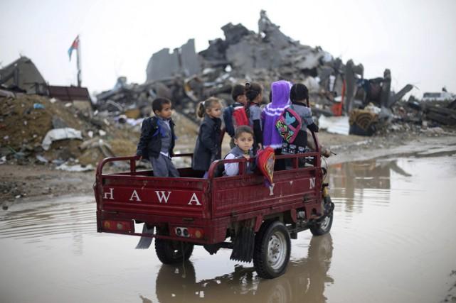 La guerre de l'été dernier, bien plus que... (PHOTO REUTERS)