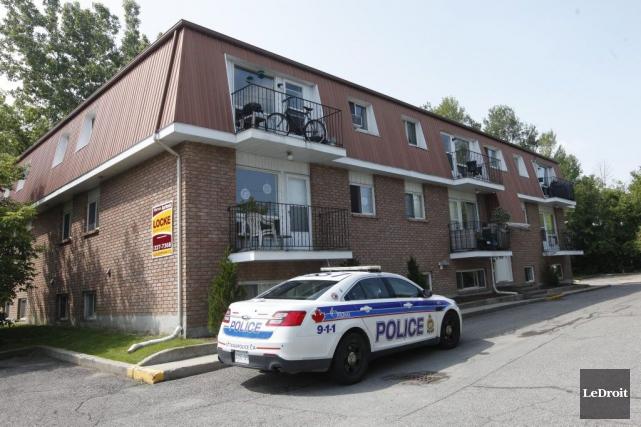 Le suspect, John McRae, 70 ans, aurait poignardé... (Simon Séguin-Bertrand, LeDroit)