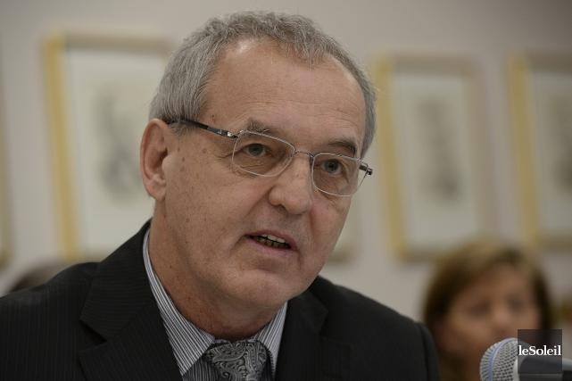 Le maire de Sainte-Anne-de-Beaupré, Jean-Luc Fortin... (Photothèque Le Soleil, Patrice Laroche)