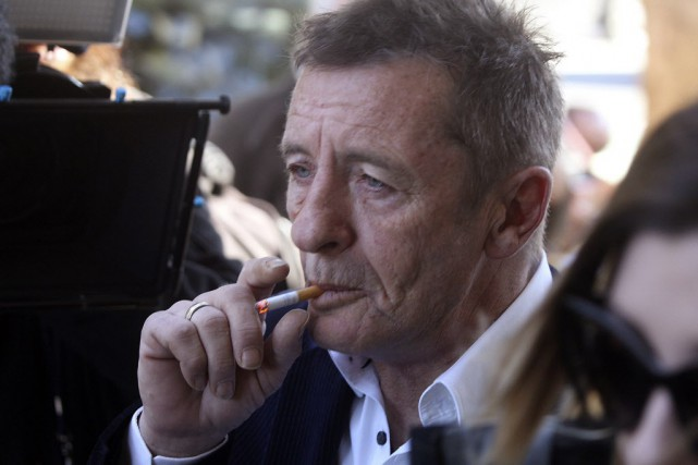 Phil Rudd, accusé d'avoir enfreint les conditions de... (Photo Alan Gibson/New Zealand Herald, archives AP)