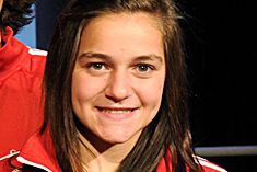 Karyna Fiset, une joueuse de relève de 17... (Normand Huberdeau)