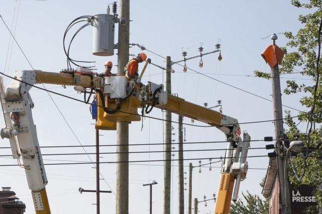 L'ensemble des employés d'Hydro-Québec ont empoché 144 millions... (PHOTO SIMON GIROUX, ARCHIVES LA PRESSE)