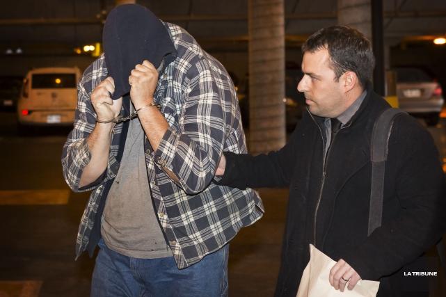 Ronald Nolet lors de son arrestation en décembre... (Archives La Tribune)