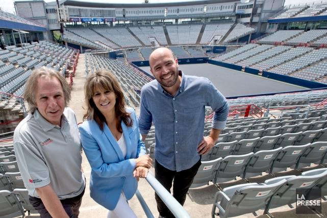 La Coupe Rogers, dont le volet masculin sera... (Photo Patrick Sanfaçon, La Presse)