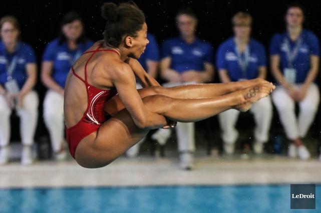 Jennifer Abelentamera les Jeux panaméricains dans un rôle... (Photo Patrick Woodbury, archives Le Droit)
