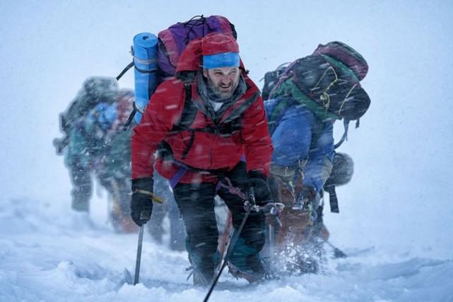Everest, un drame d'aventure se déroulant sur le toit du monde et...