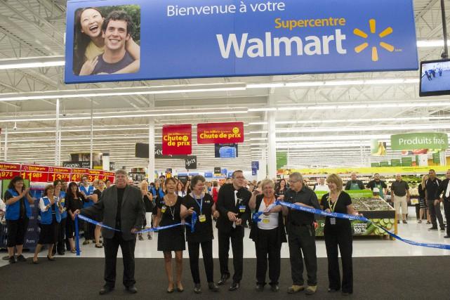 Le Supercentre de Trois-Rivières a été inauguré jeudi.... (Stéphane Lessard)