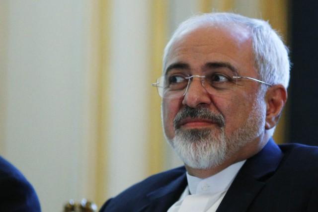 Les ministre iranien des Affaires étrangères, Mohammad Javad... (Photo Carlos Barria, AP)