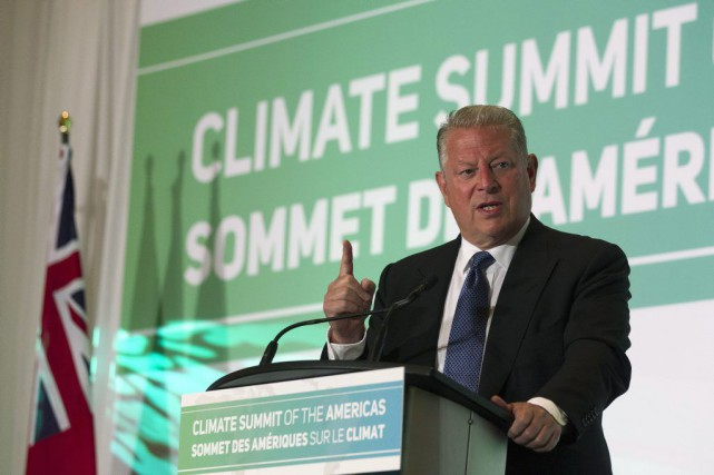 Al Gore a soutenu jeudi, à Toronto, que les... (Photo Chris Young, La Presse Canadienne)