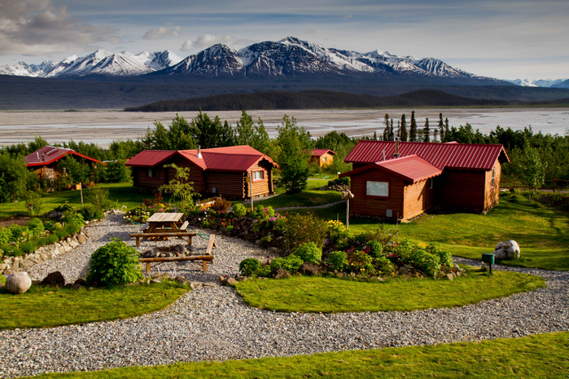Ultima Thule Lodge, Alaska.... (PHOTO FOURNIE PAR L'ULTIMA THULE LODGE)