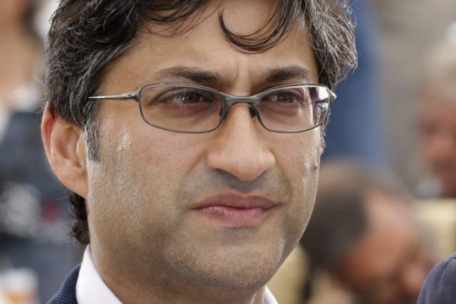 Asif Kapadia lors de la présentation du film... (PHOTO ARCHIVES AP)