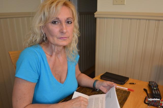 Manon Tremblay tenait à remettre les pendules à... ((Photo le Quotidien, Laura Lévesque))