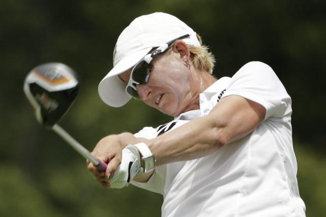 L'Australienne Karrie Webb, âgée de 40 ans, a... (Photo Frank Franklin II, AP)