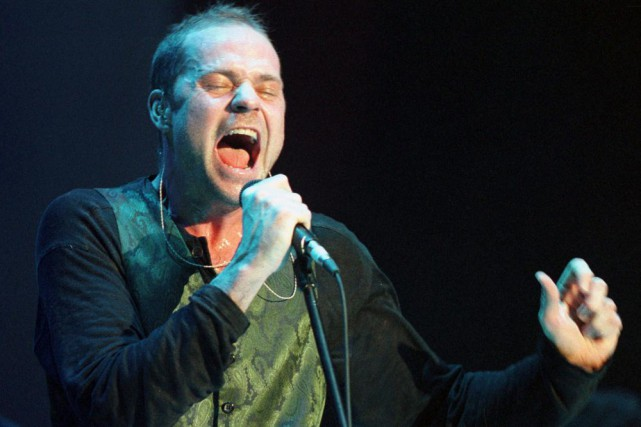 Gordon Downie, chanteur de Tragically Hip... (Archives La Presse Canadienne)