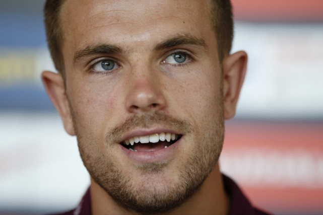 Jordan Henderson... (Photo John Sibley Livepic, Reuters)