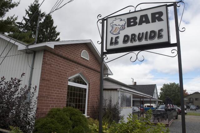 Le Bar le Druide a Saint-Boniface.... (Stéphane Lessard)