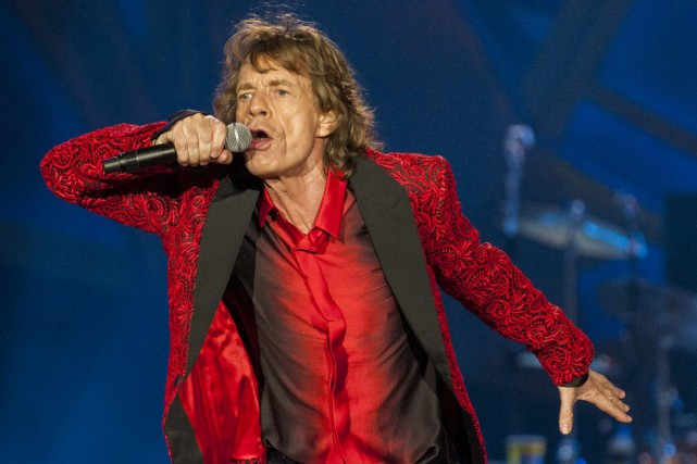 Mick Jagger... (PHOTO ARCHIVES AP)
