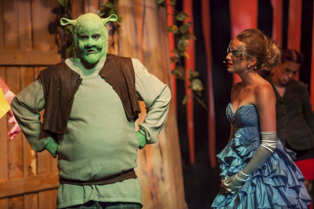 Shrek débarquera vendredi soir à la Maison de... (Olivier Croteau)