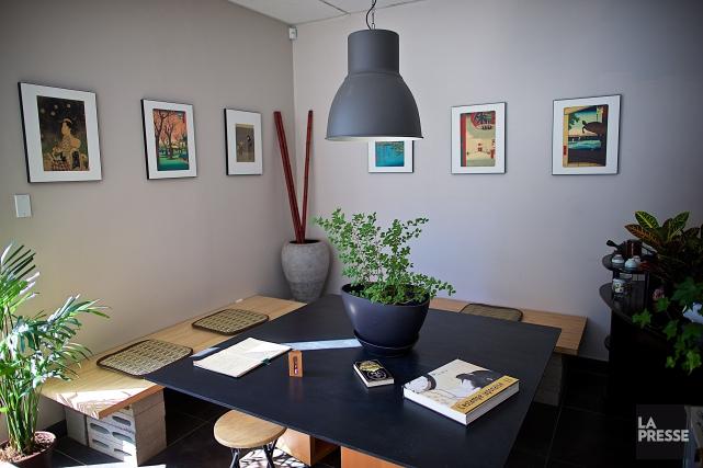 Le salon de thé Cha Do Raku est... (PHOTO ANDRÉ PICHETTE, LA PRESSE)
