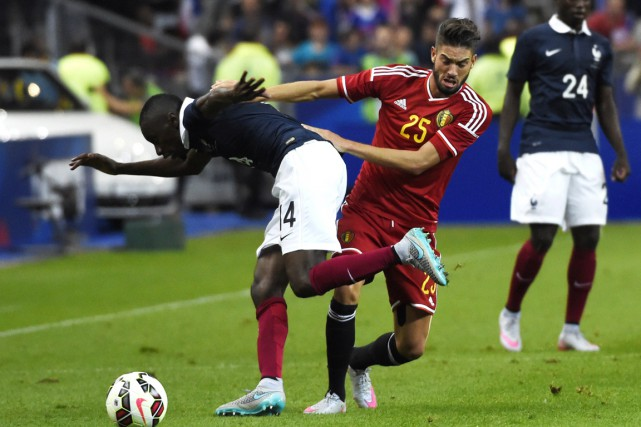 Yannick Ferreira Carrasco... (Photo LOIC VENANCE, AFP)